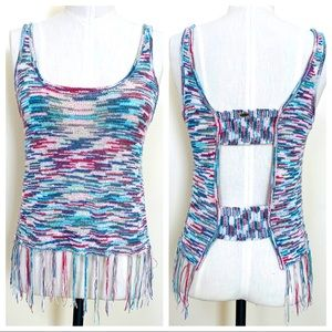 O'NEILL Oyster Fringe Tank Multi-colored Small